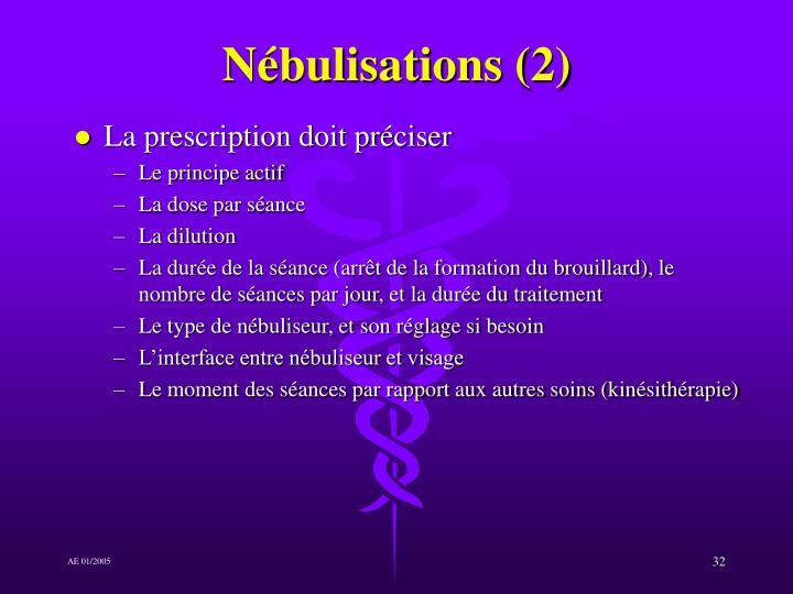Nébulisations (2)