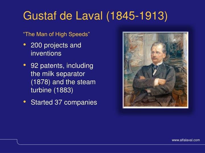 Gustaf de Laval (1845-1913)