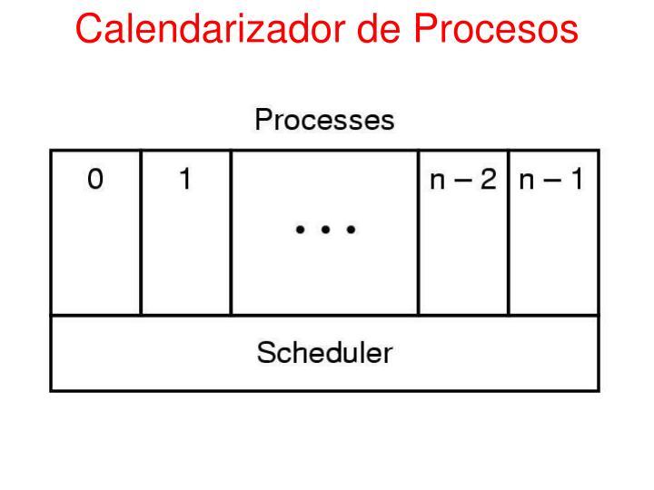 Calendarizador de Procesos