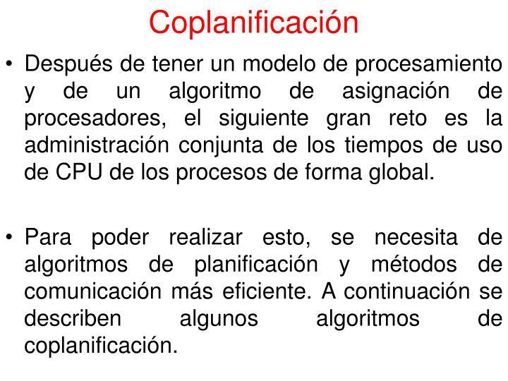 Coplanificación