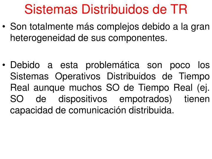 Sistemas Distribuidos de TR