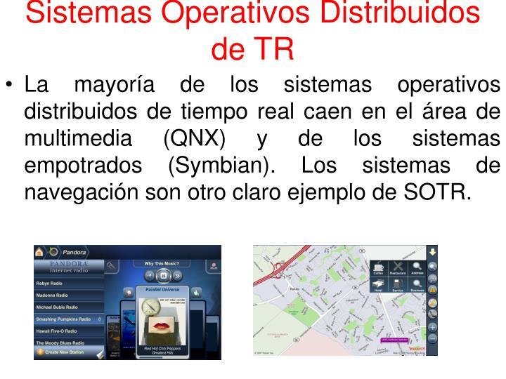 Sistemas Operativos Distribuidos de TR