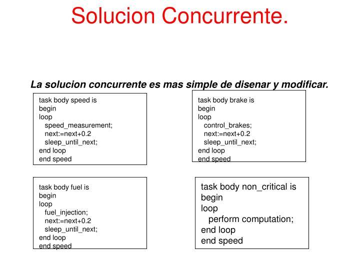 Solucion Concurrente.