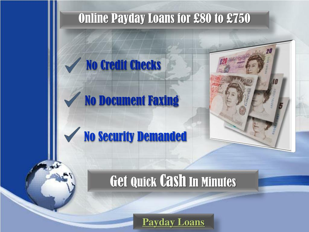 Online Payday Loans for £80 to £750