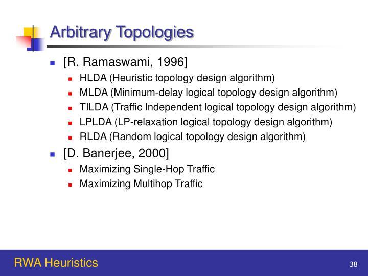 Arbitrary Topologies