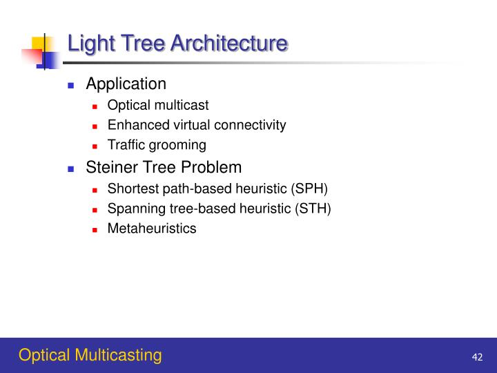 Light Tree Architecture