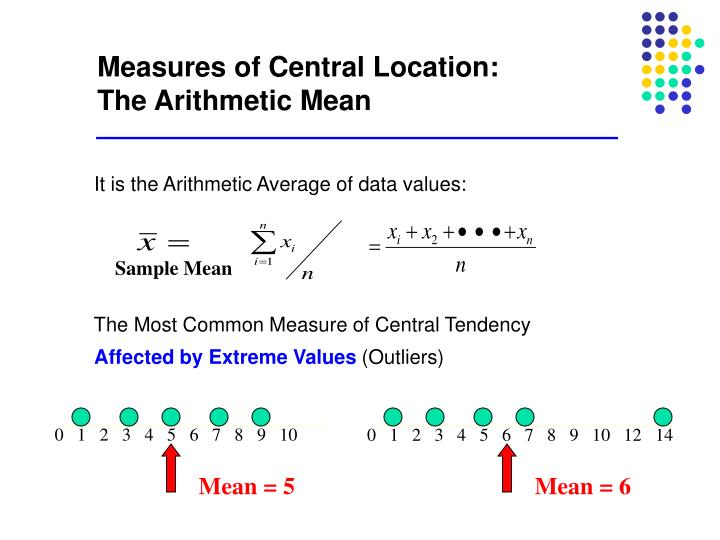 Measures of Central Location:
