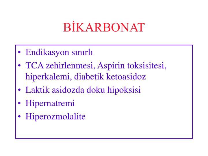 BİKARBONAT
