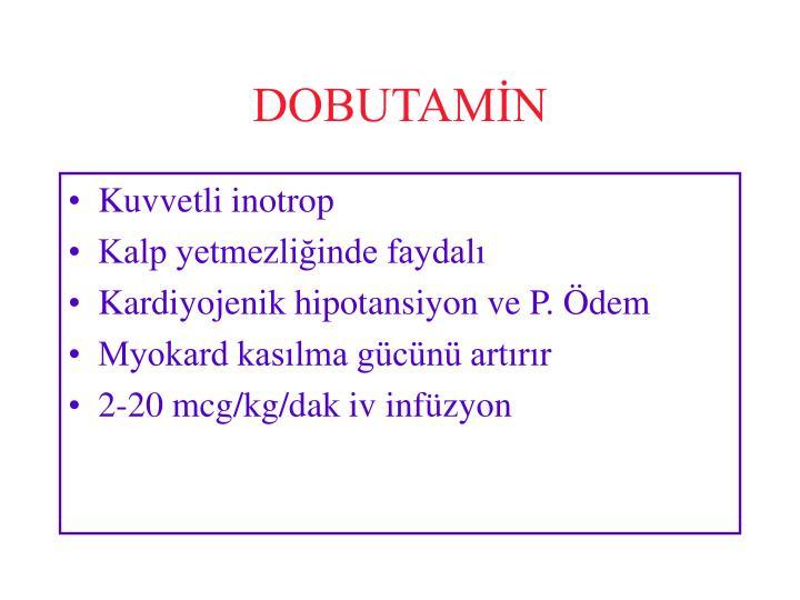 DOBUTAMİN