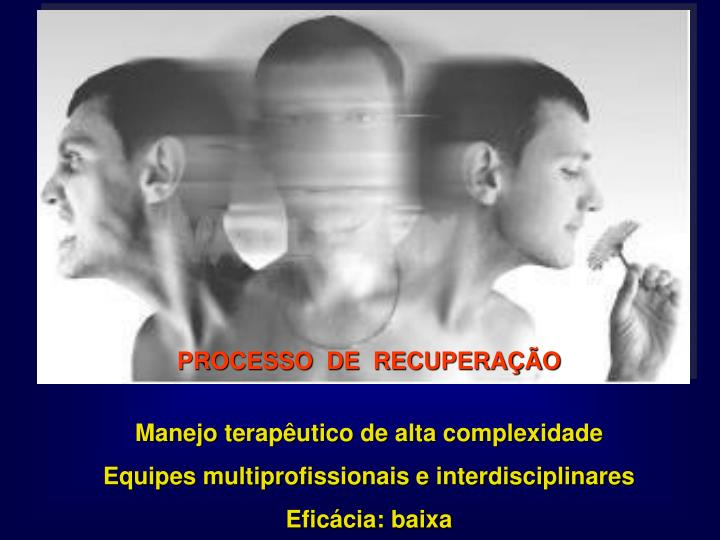 PROCESSO  DE  RECUPERAÇÃO