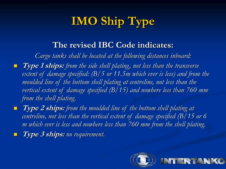 IMO Ship Type