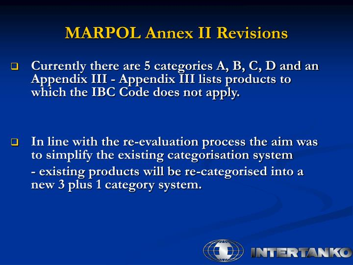 Marpol annex ii revisions1