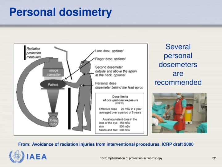 Personal dosimetry