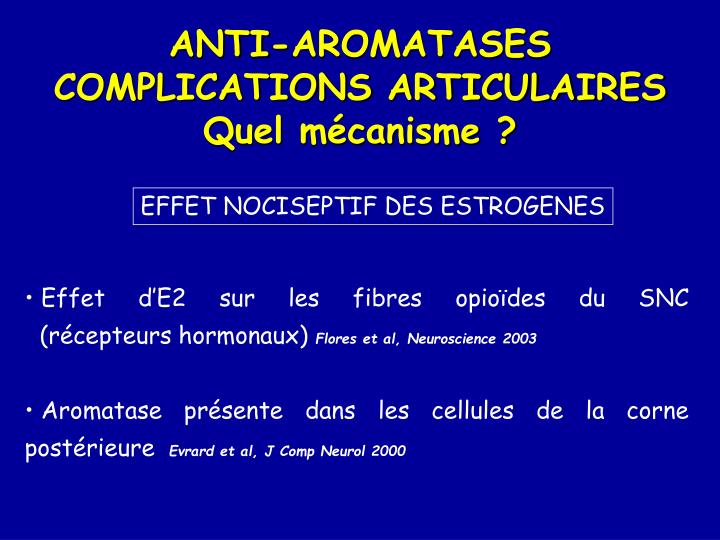 ANTI-AROMATASES