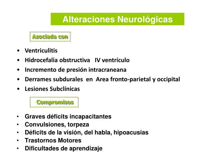 Alteraciones Neurológicas
