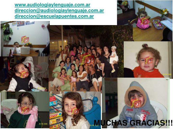 www.audiologiaylenguaje.com.ar