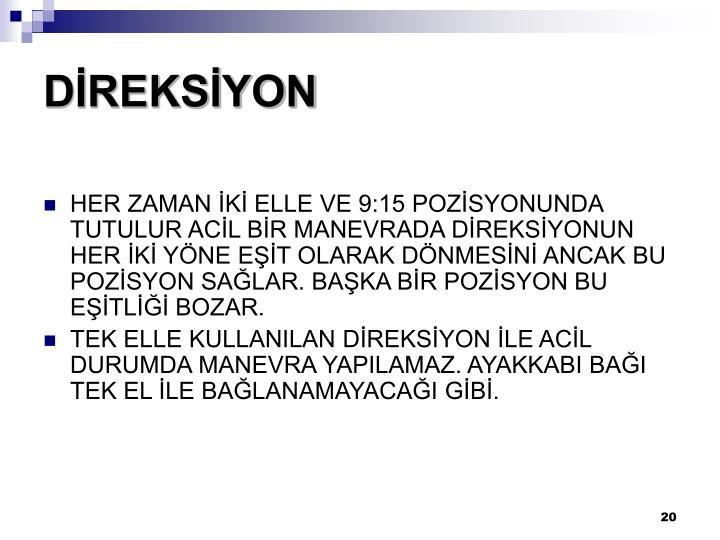 DİREKSİYON