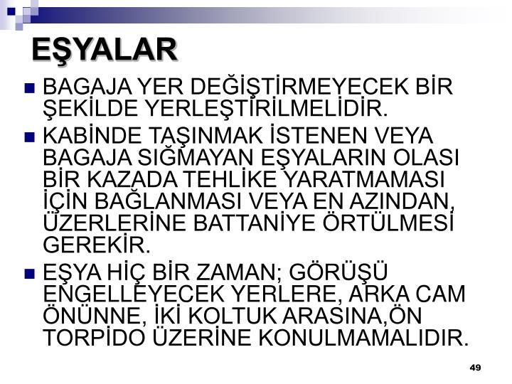EŞYALAR