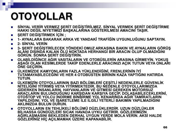OTOYOLLAR