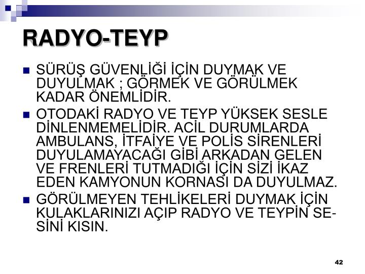 RADYO-TEYP