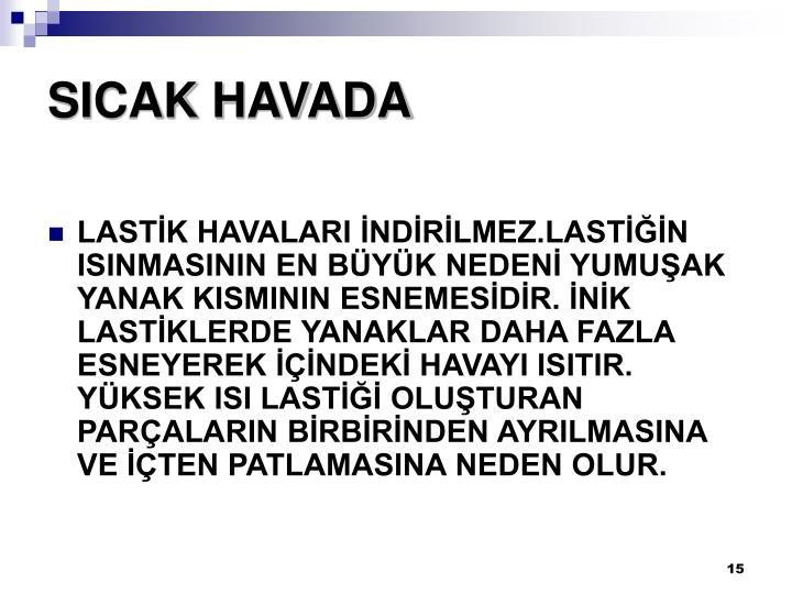 SICAK HAVADA