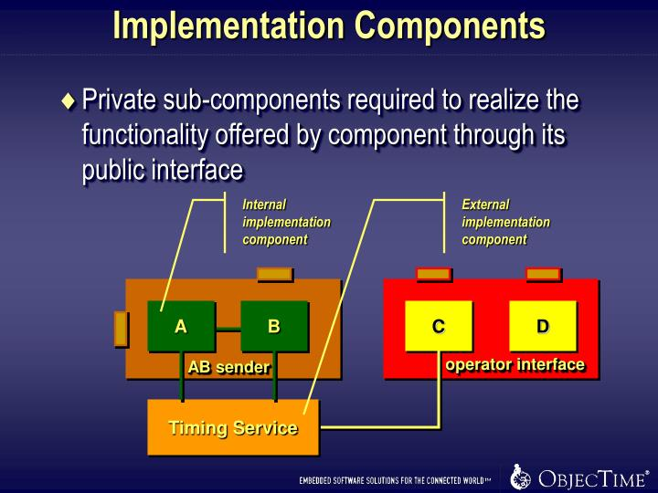 Implementation Components