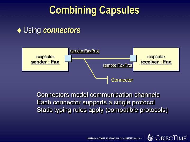 Combining Capsules