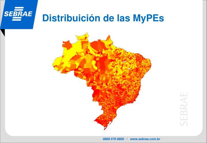 Distribuición