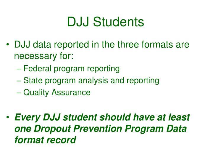 DJJ Students