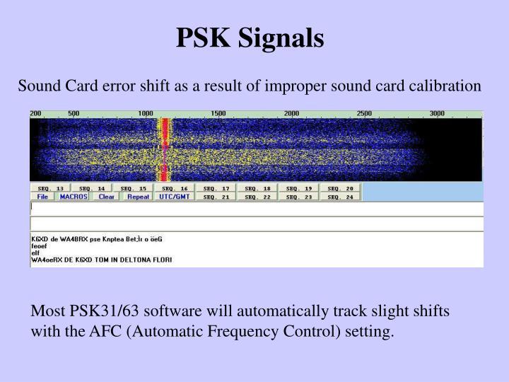 PSK Signals
