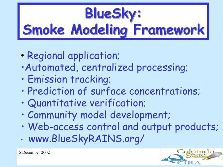 BlueSky: