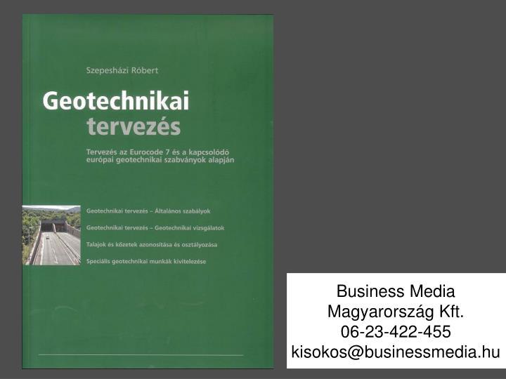Business Media Magyarország Kft.