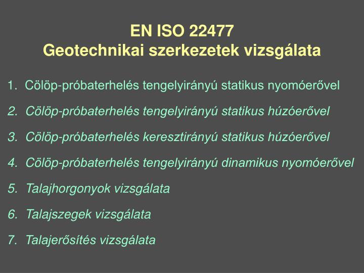 EN ISO 22477