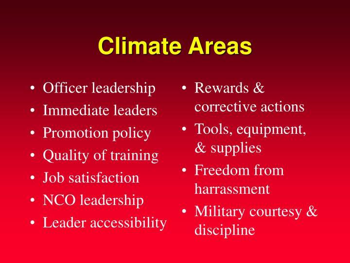 Officer leadership