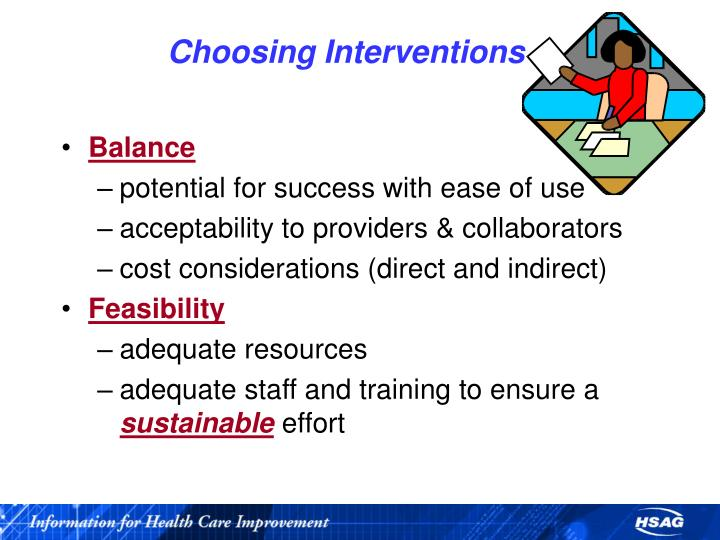 Choosing Interventions