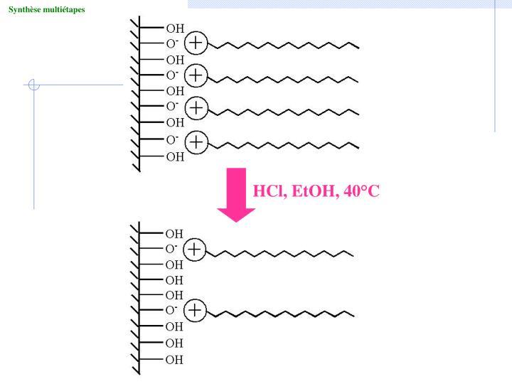 HCl, EtOH, 40°C