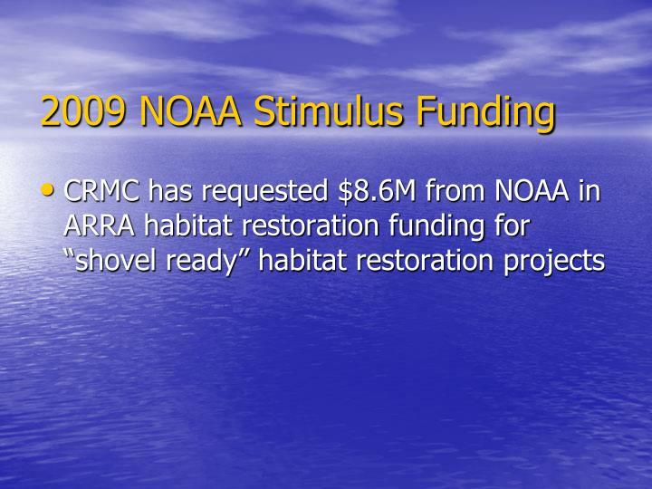 2009 NOAA Stimulus Funding