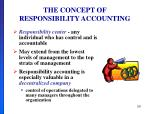 the concept of responsibility accounting2