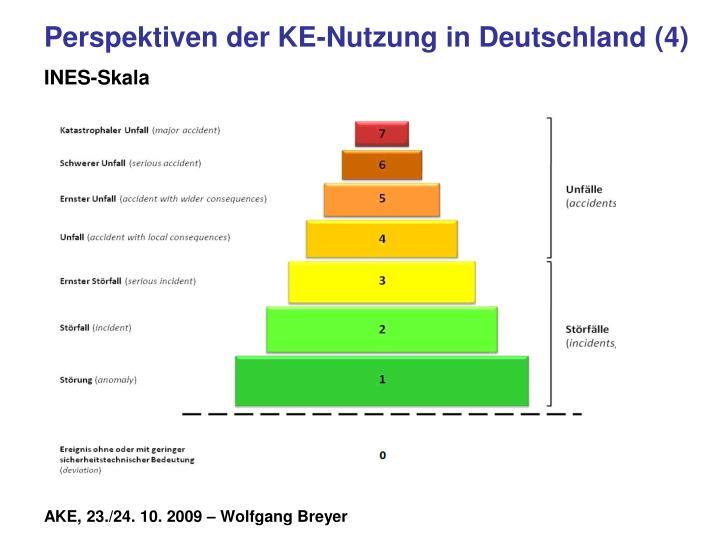 Perspektiven der KE-Nutzung in Deutschland (4)