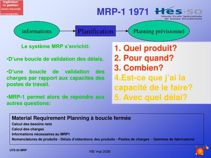 MRP-1 1971