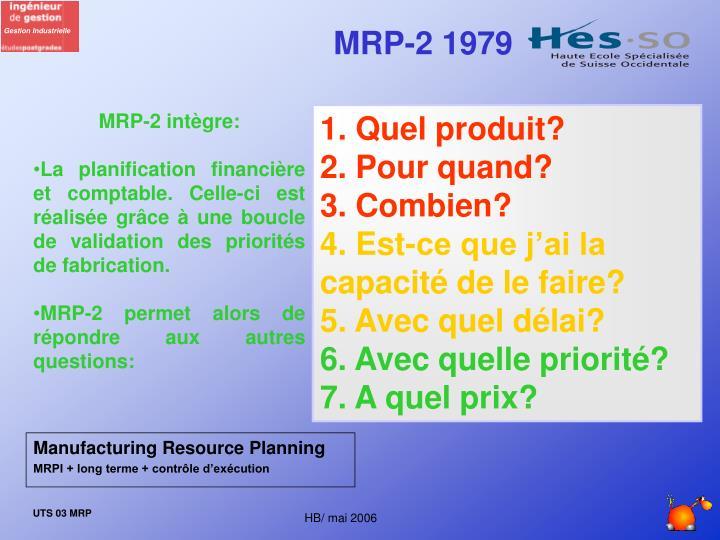 MRP-2 1979