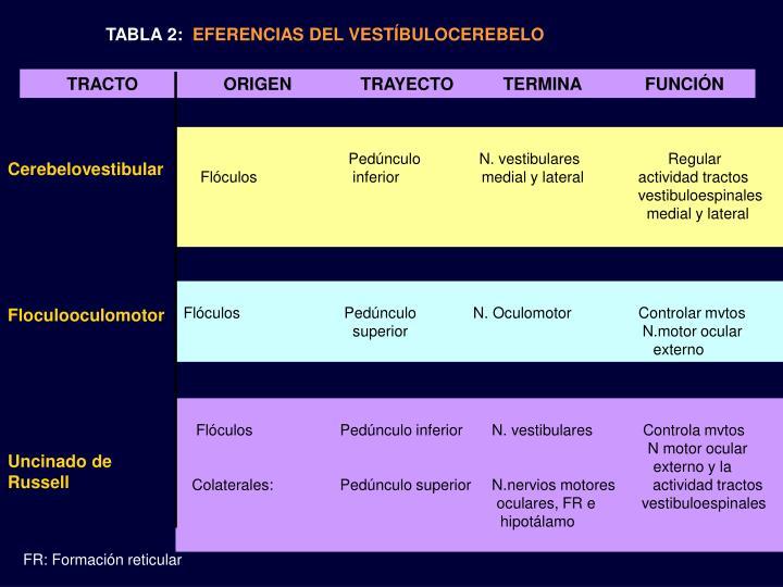 TABLA 2: