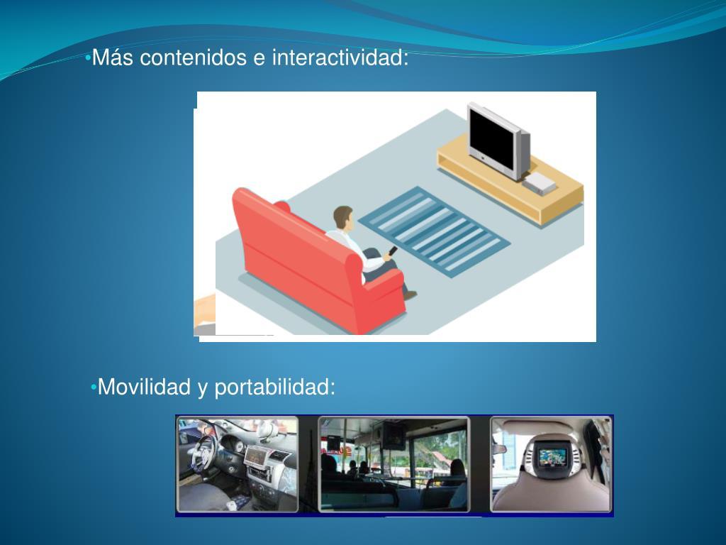 Más contenidos e interactividad:
