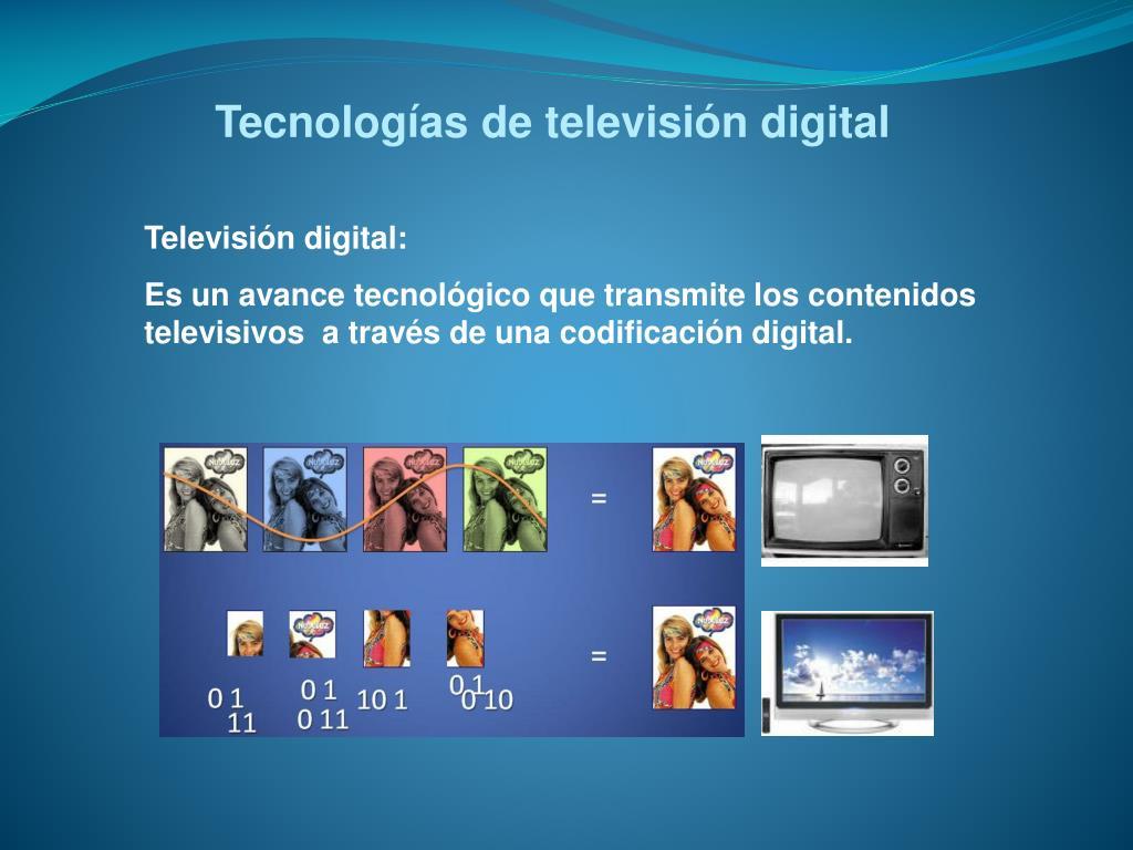 Tecnologías de televisión digital