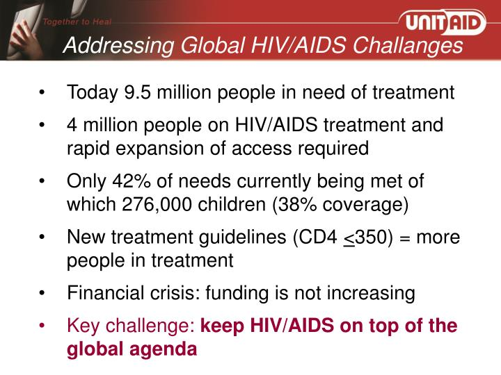 Addressing Global HIV/AIDS Challanges