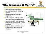 why measure verify