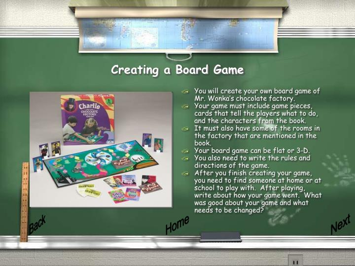 Creating a Board Game