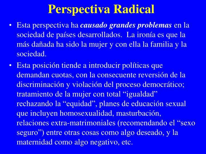 Perspectiva Radical