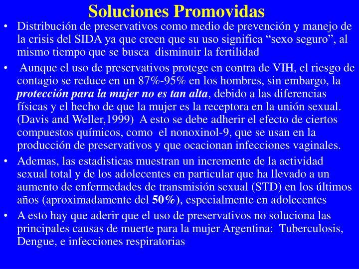 Soluciones Promovidas