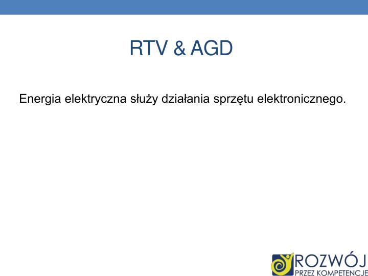 RTV & AGD